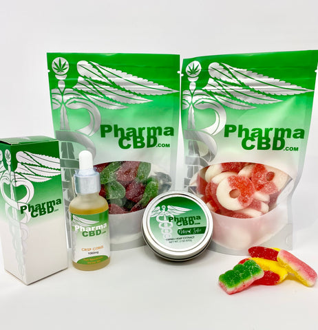 PharmaCBD Flagship Product Gift Set