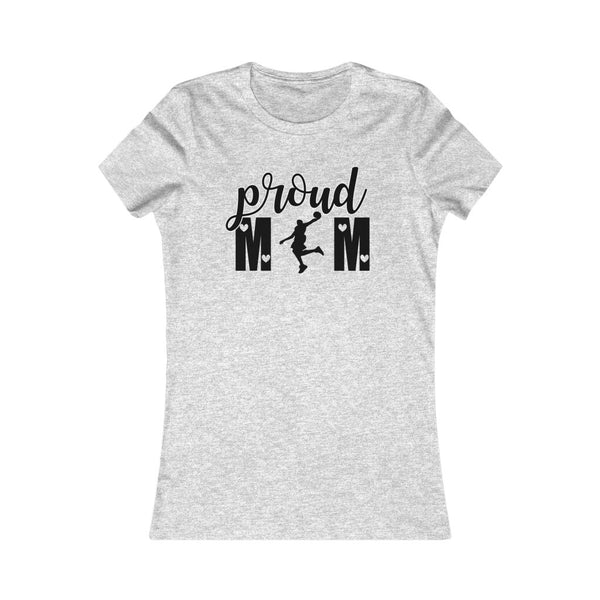 Proud Basketball Mom Women Tee