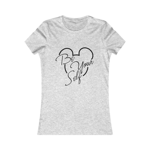 Be Yourself Mickey Women Tshirt