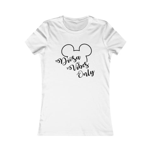 Dioss Vibes Only Mickey Women Tee