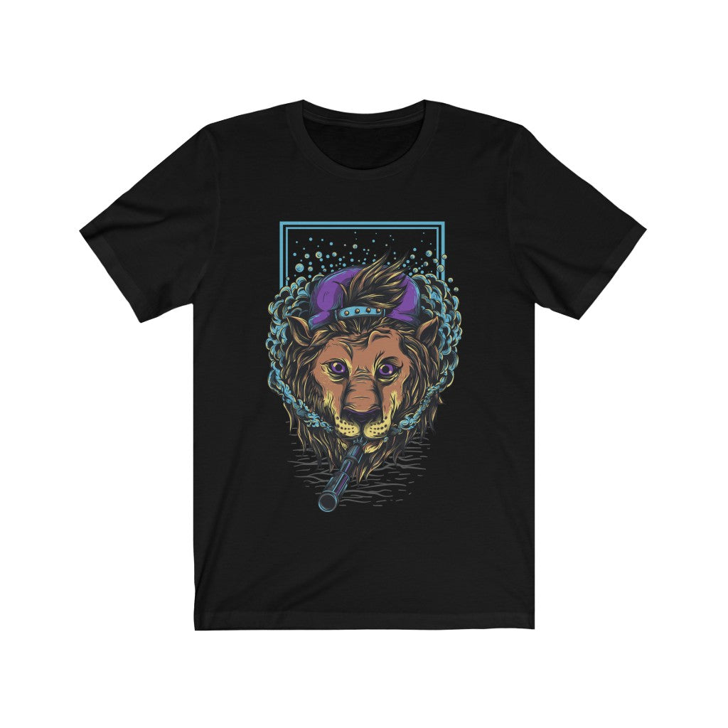Badboy Lion  Gangster Short Sleeve Tshirt