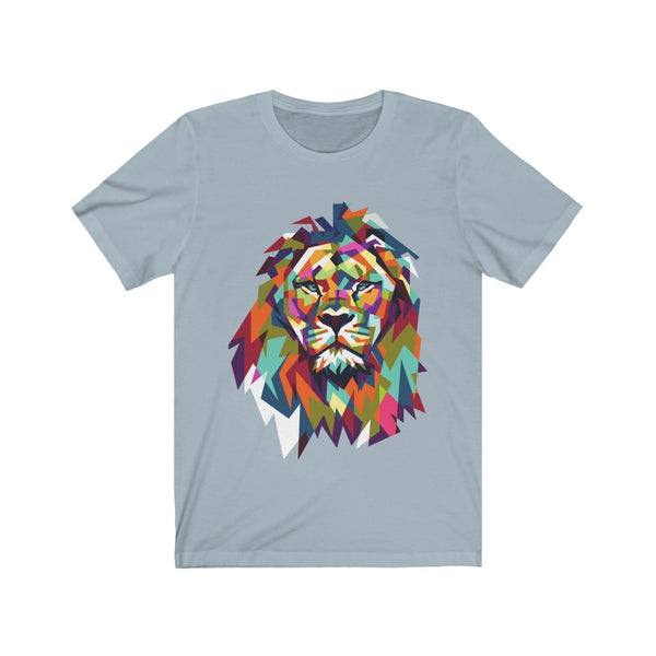 Great Colorful Lion