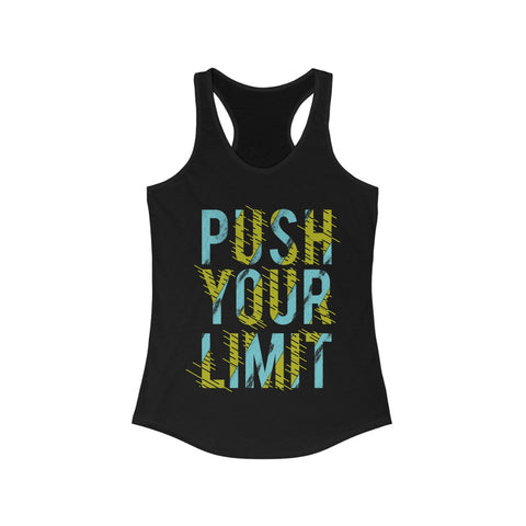 Push Your Limit Racerback Tank Top Tee