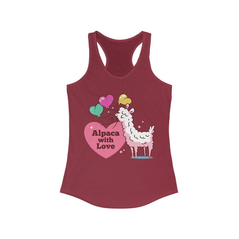 Alpaca with Love Racerback Tank Top