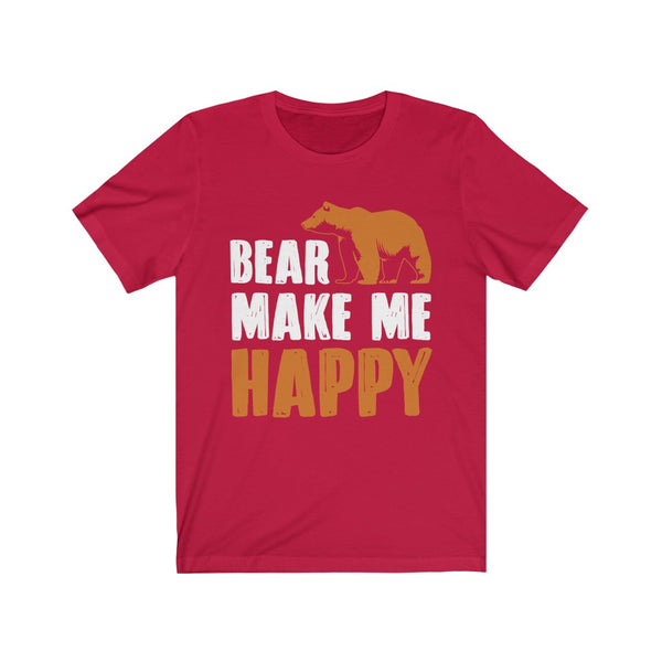 Bear Make Me Happy Sunday Tshirt