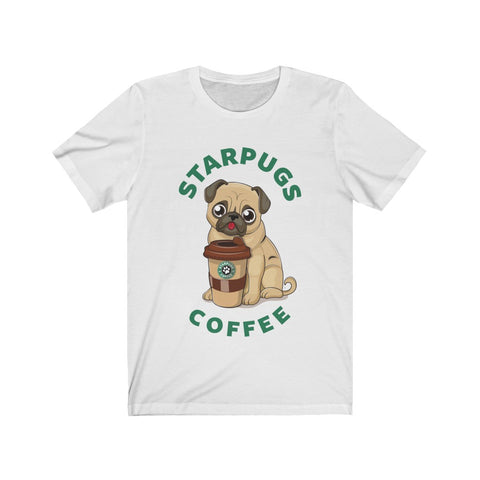 Pug Loves Coffee Dogs Lover