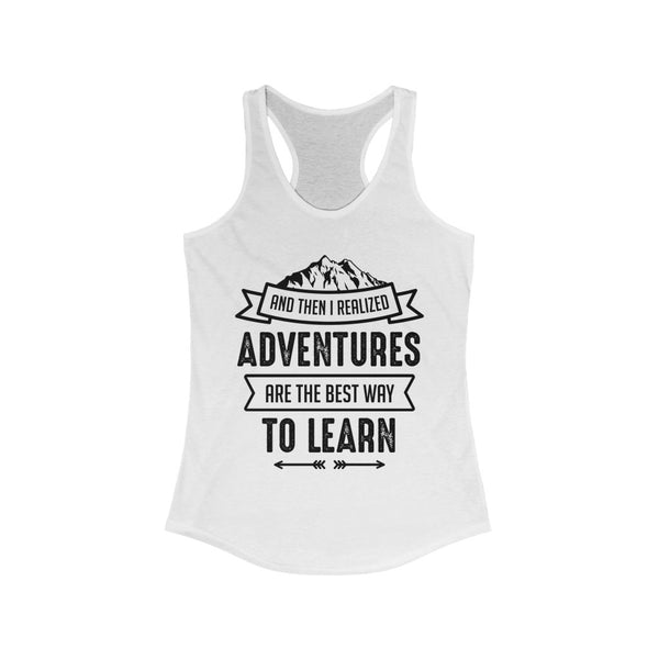 Adventures are the Best Way to Learn Yoga Tank Top