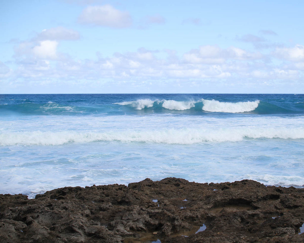 Waves at Kaena Point State Park