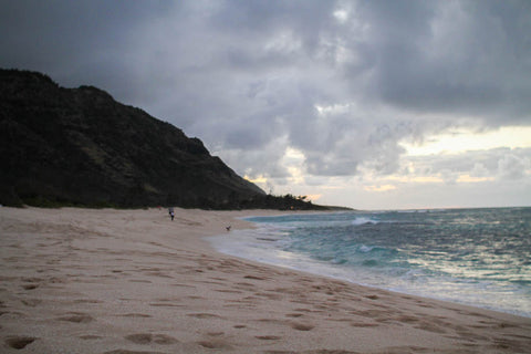 "Beach where ""Lost"" was filmed, North Shore Oahu"