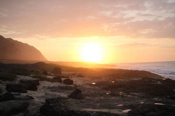 Kaena Point Sunset