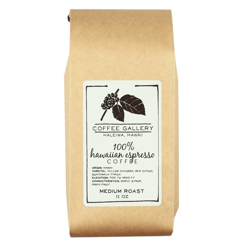 Hawaiian Espresso Coffee