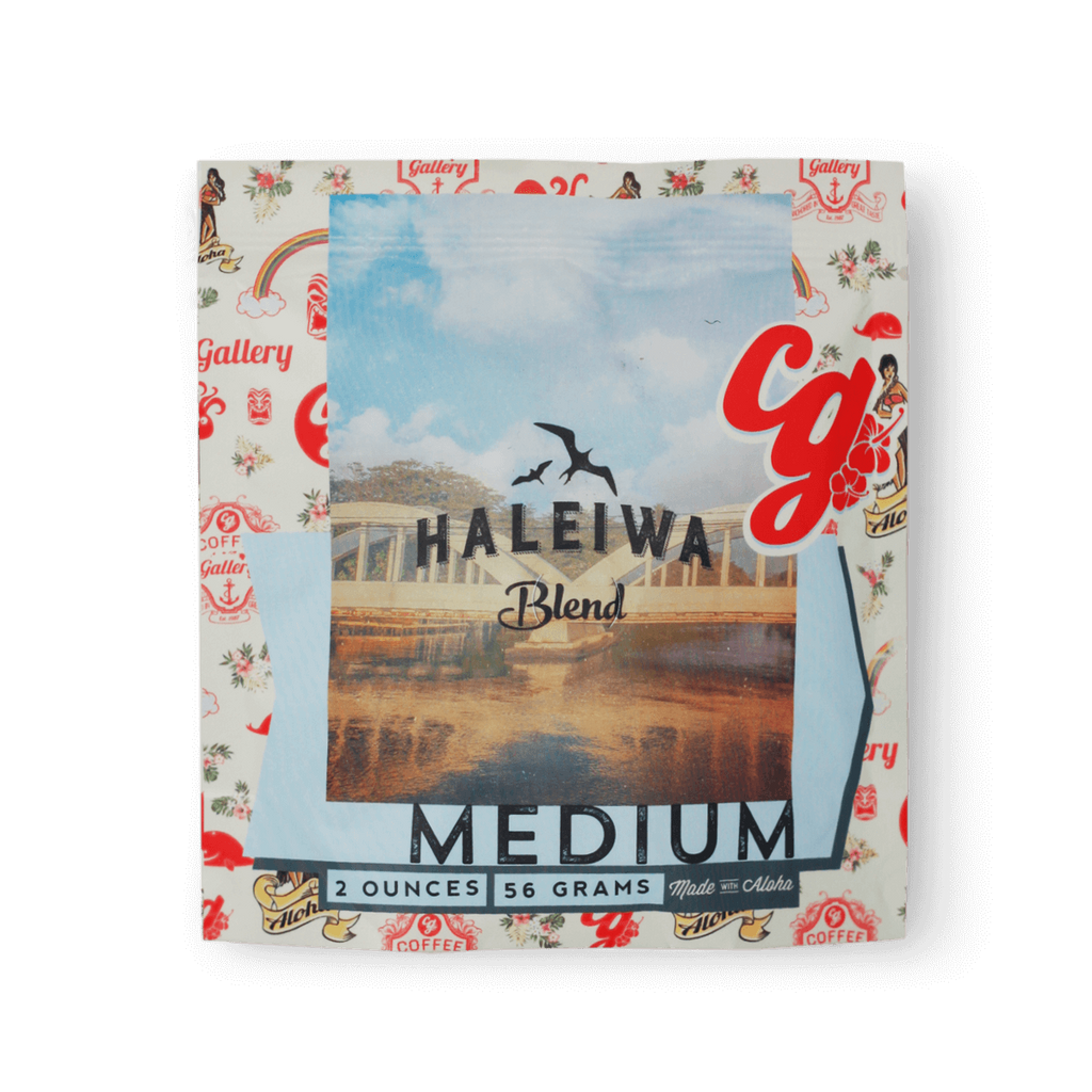 Haleiwa Blend 2oz Sample Size Coffee