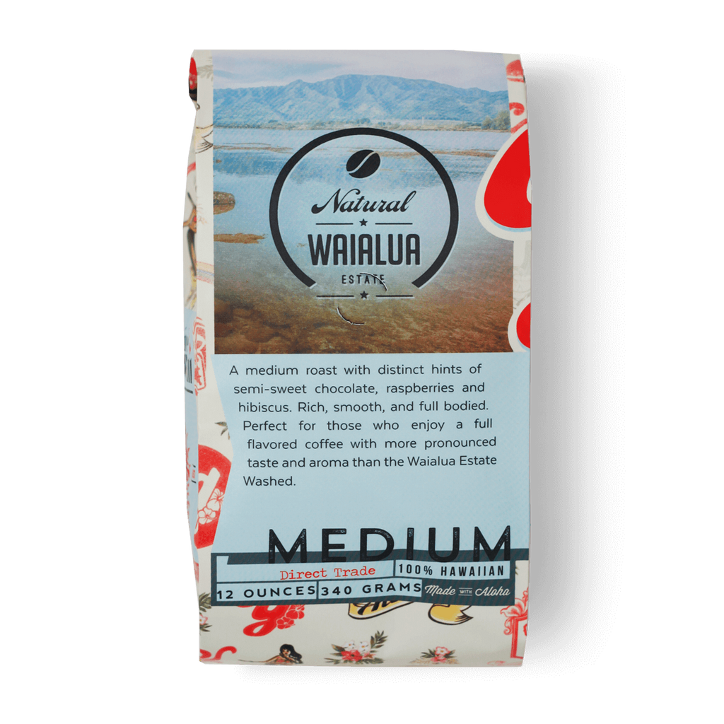 Hawaiian Oahu Waialua Estate Natural Coffee