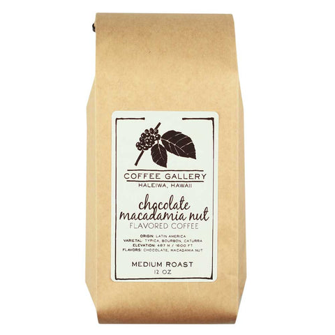 Chocolate Macadamia Flavored Coffee in Hawaii