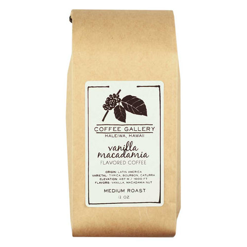 vanilla macadamia nut coffee