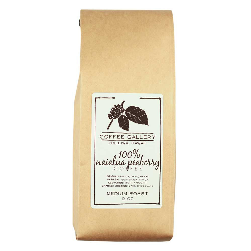 waialua estate peaberry