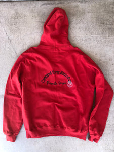 Red Pullover Sweatshirt
