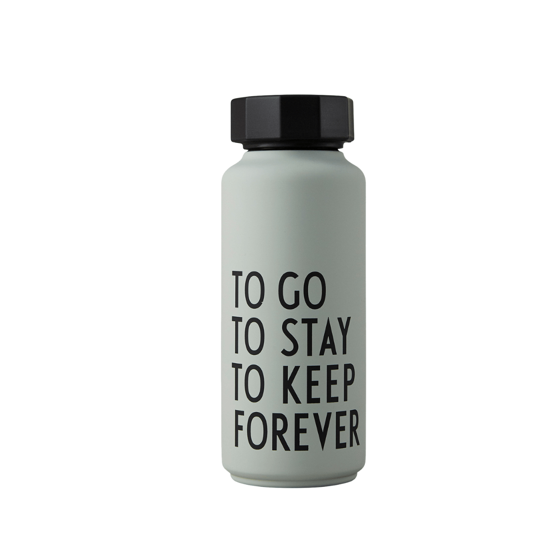 To Go To Stay To Keep Forever - Grey Green