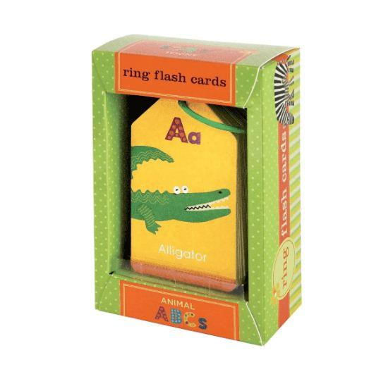 Ring Flash Cards: Animal ABCs