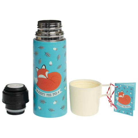 RUSTY THE FOX FLASK AND CUP