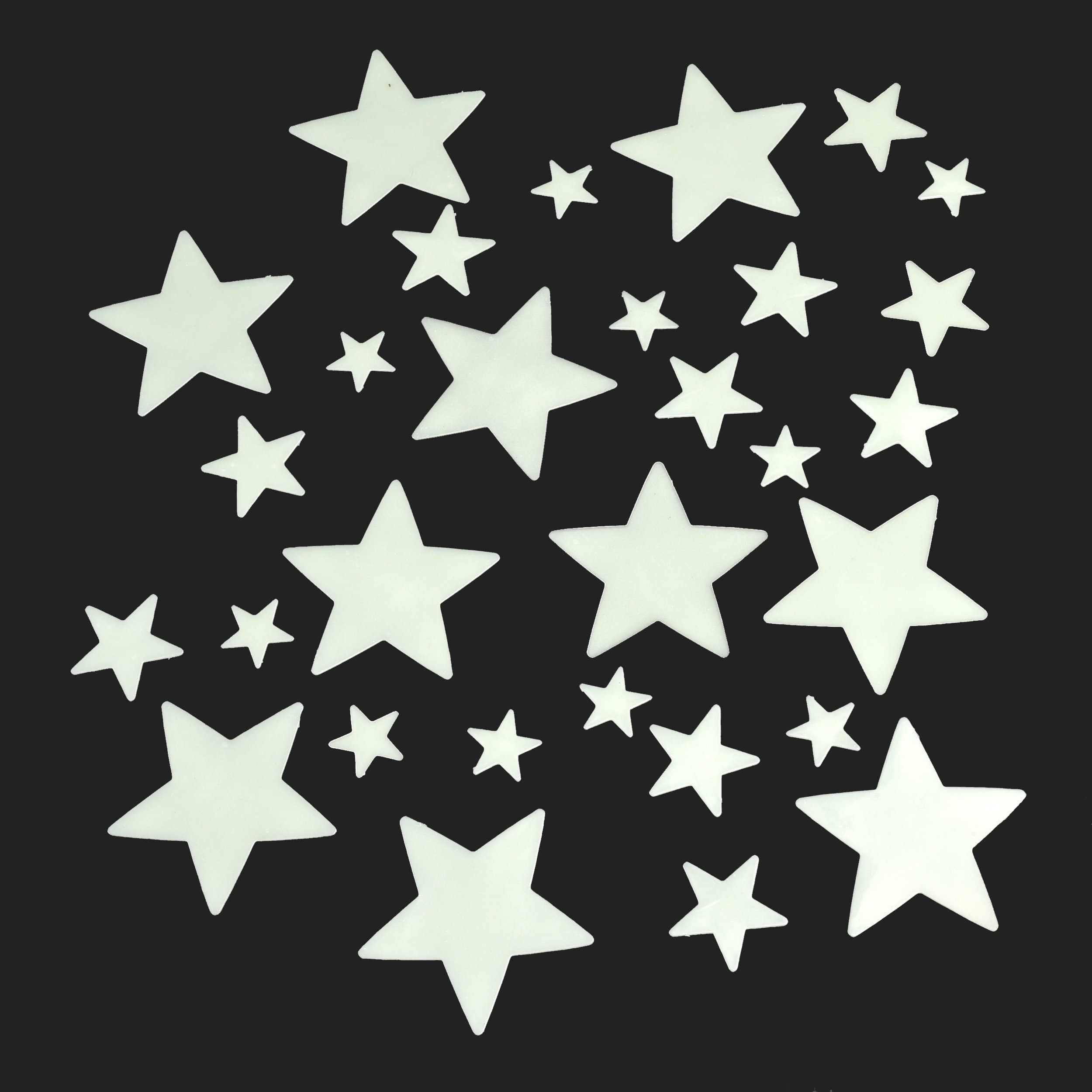 30 GLOW IN THE DARK STARS