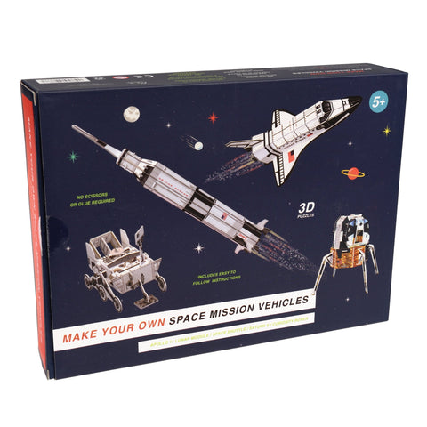 MAKE YOUR OWN SPACE MISSION VEHICLES