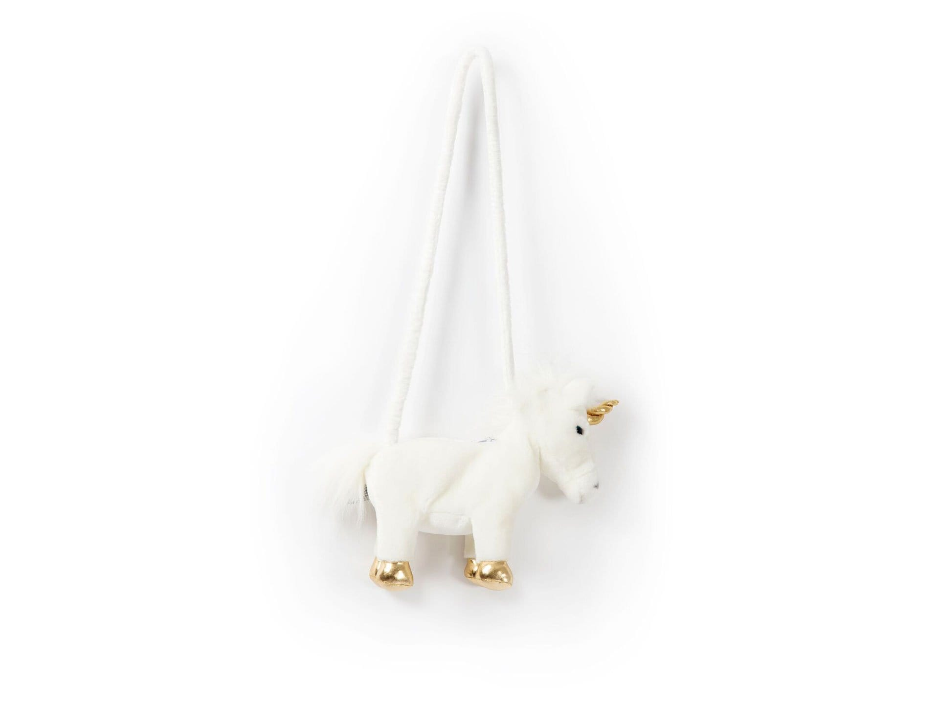 WHITE UNICORN PURSE CLAIRE