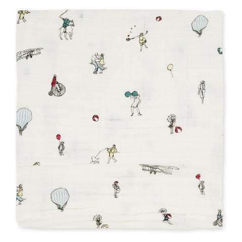 ORGANIC COTTON LIGHT MUSLIN SWADDLE
