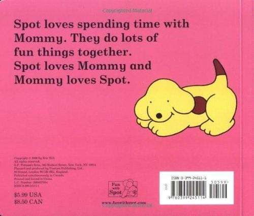 Spot Loves His Mommy Board Book