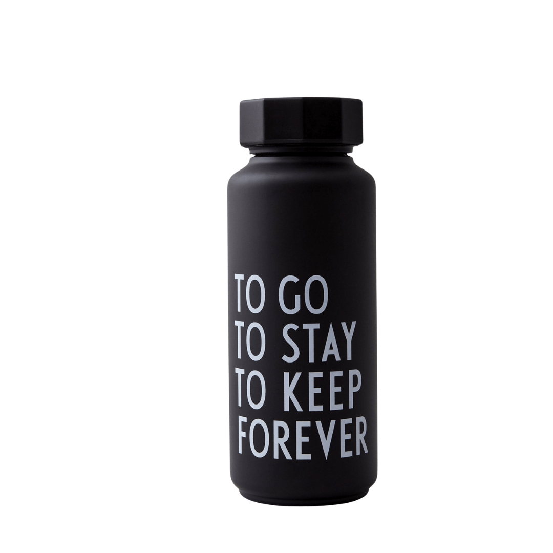 To Go To Stay To Keep Forever - Black