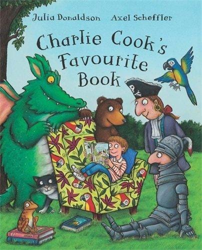 CHARLIE COOK'S FAVOURITE BOOK Picture Book