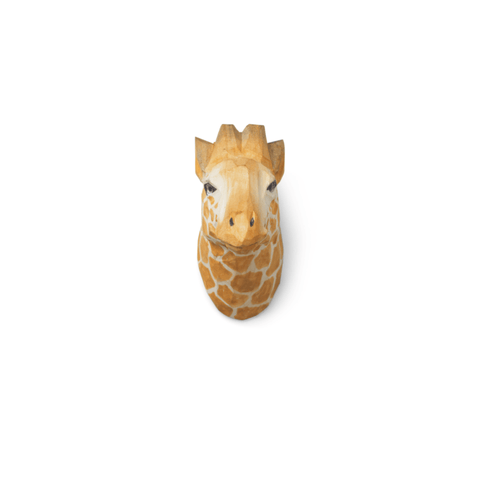 Animal Hand-Carved Hook - Giraffe