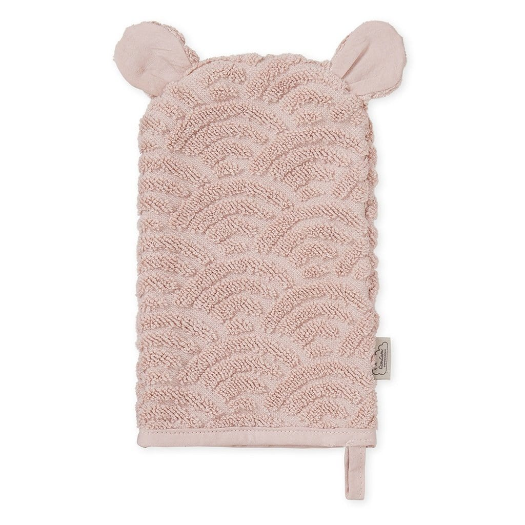 COTTON WASH GLOVE Blossom Pink