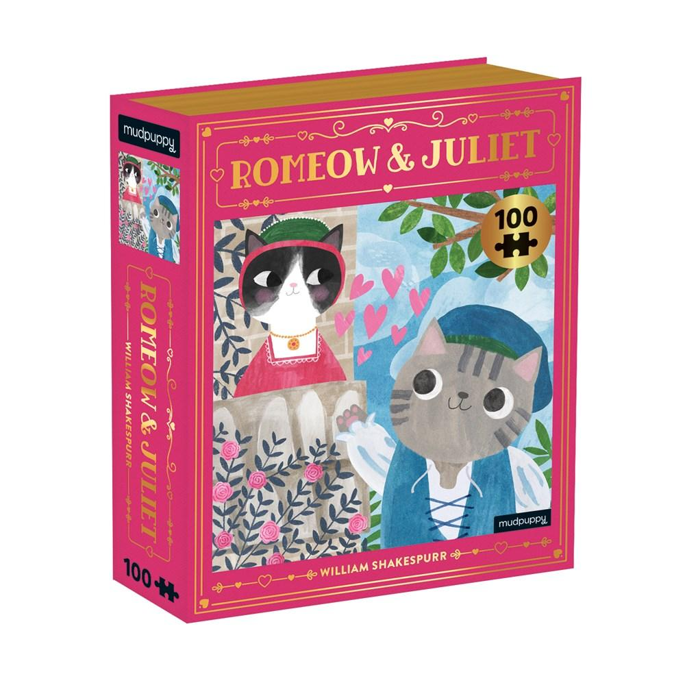 Puzzle Bookish Cat Romeow & Juliet