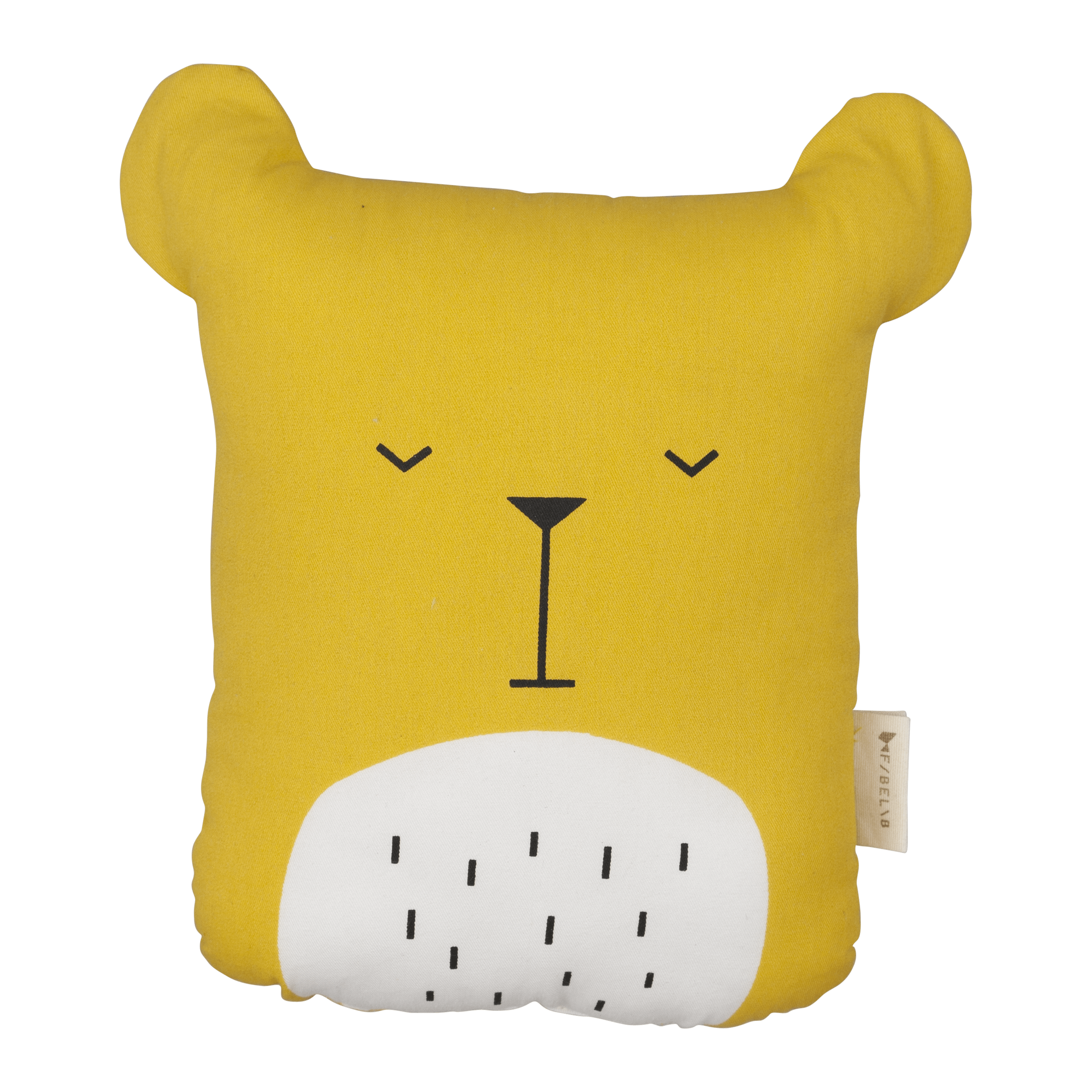 Animal Cushion Lazy Bear Honey
