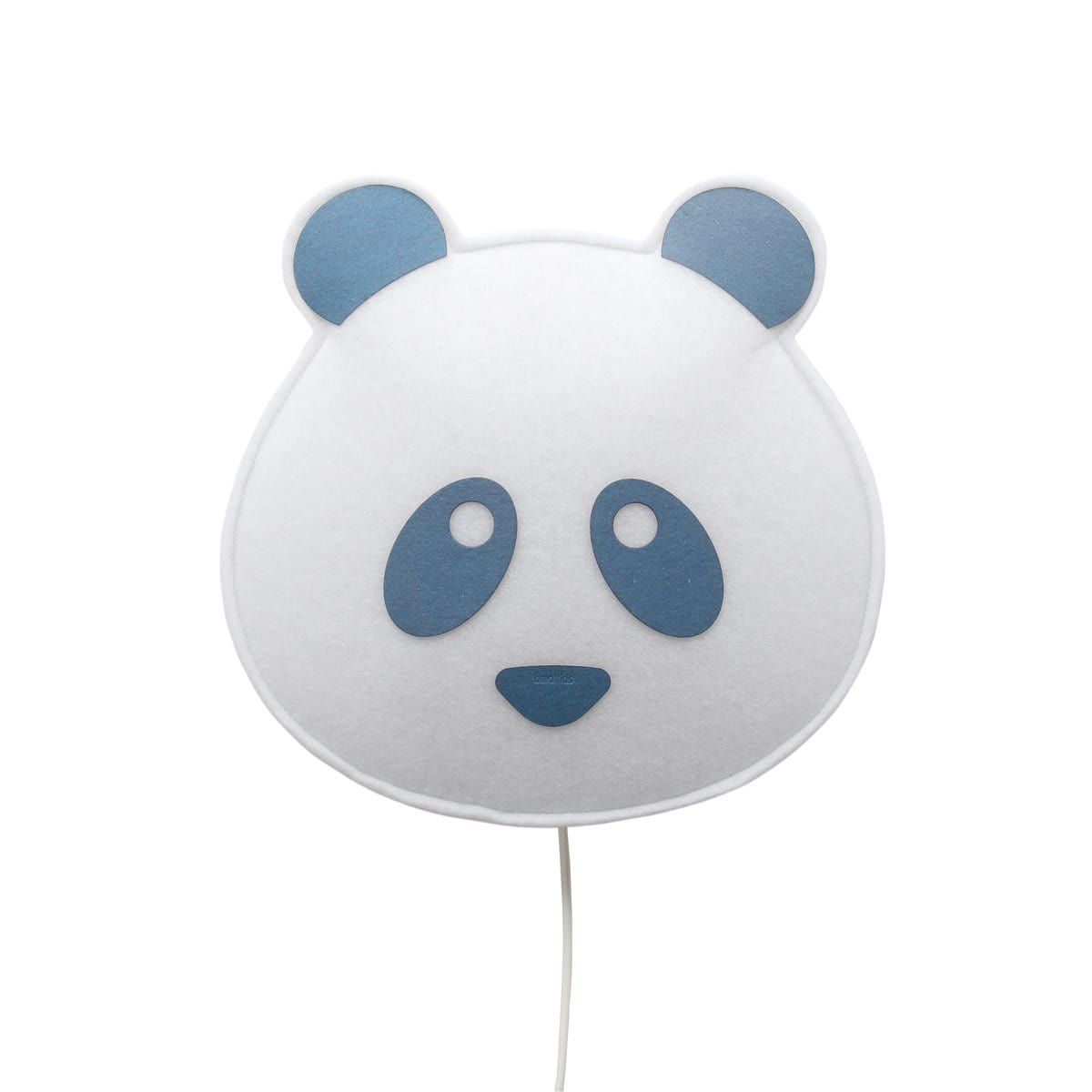 Wall Lamp Panda blue
