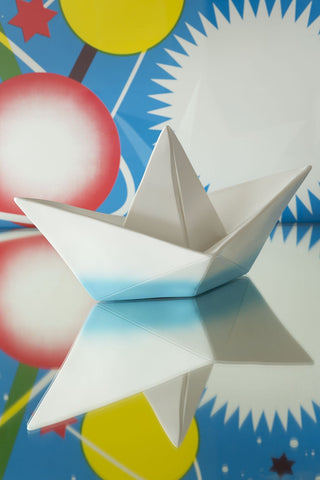 The Paper Boat Lamp wireless