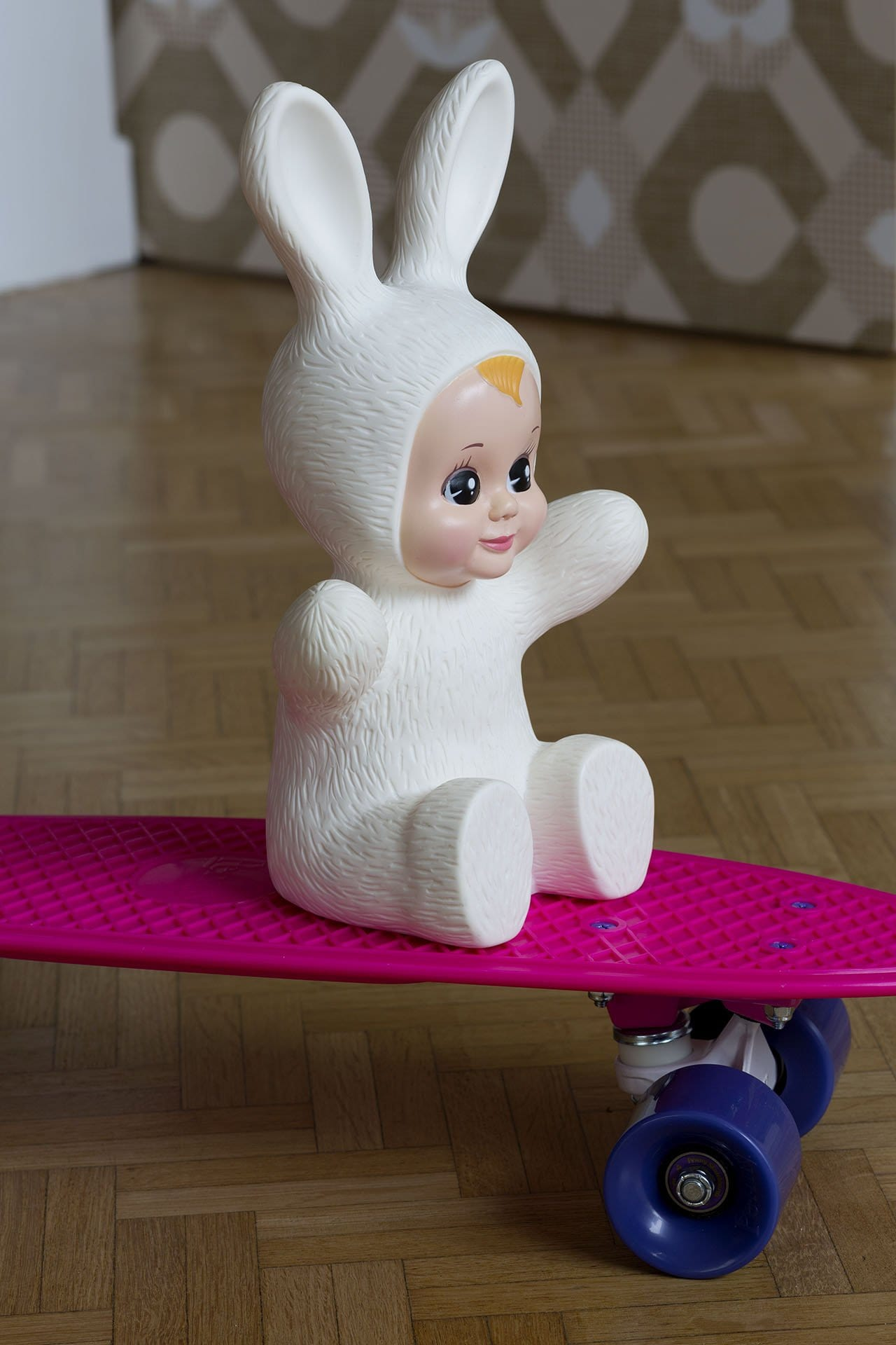 The Bunny Baby Lamp - White