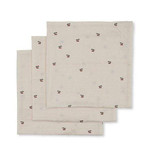 3 PACK MUSLIN CLOTH