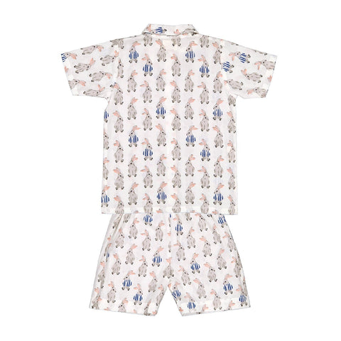 PYJAMA SHORT SLEEVES RABBIT