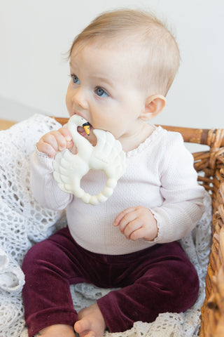 TEETHER SWAN WHITE
