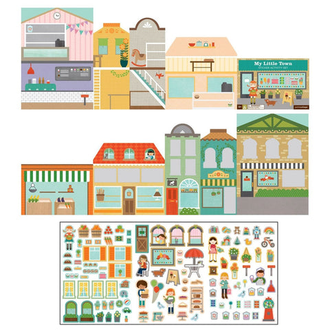 Sticker Activity Set: My Little Town