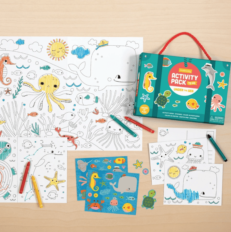 Activity Packs to Go: Under the Sea
