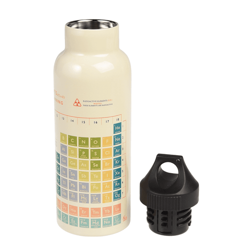 Periodic Table Stainless Steel Bottle