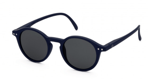 SUN JUNIOR #D Navy blue Grey lenses