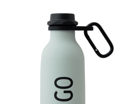 Carry Strap For Water Bottle - Black