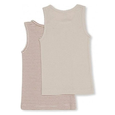 SAYA 2 PACK TANK - GIRL - BEIGE/TOFFEE