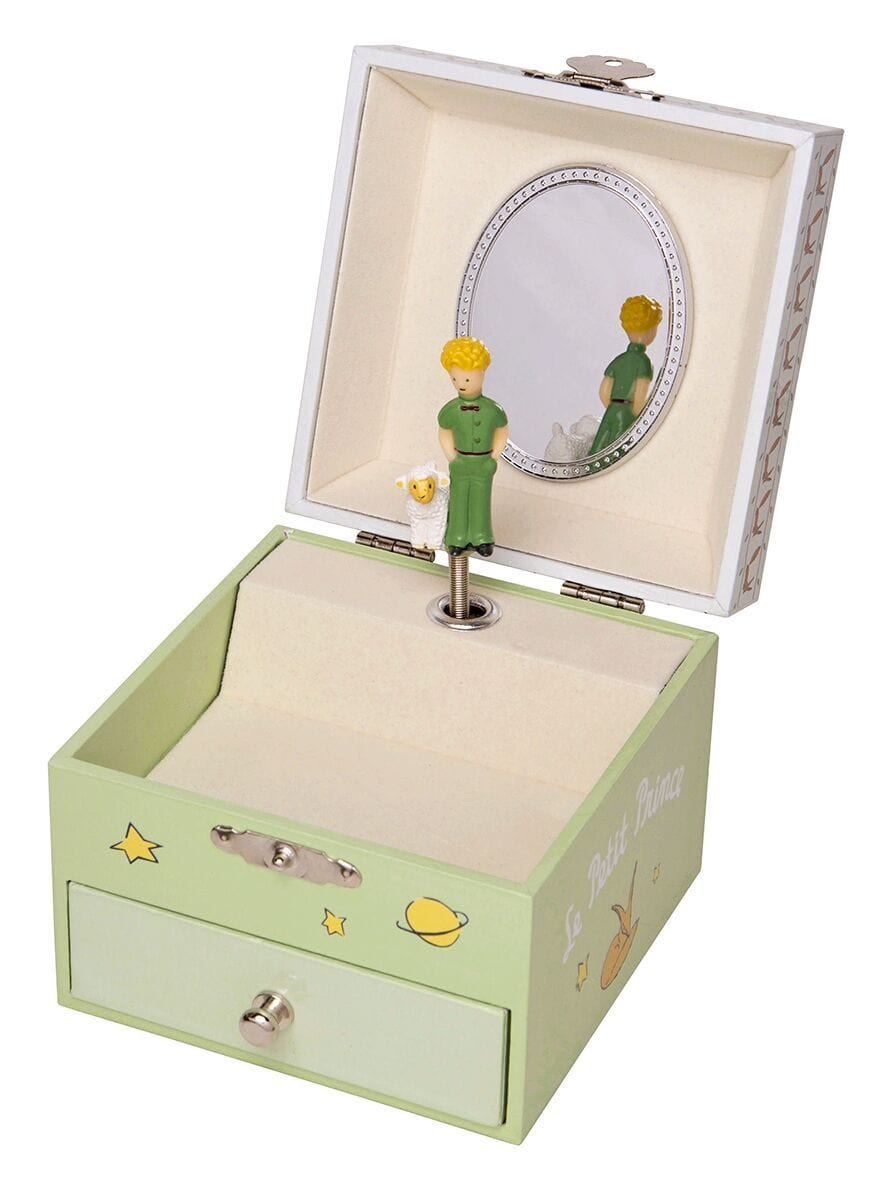 "Musical Cube Box Little Prince ""Garden"" -Glow in dark"