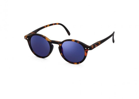 SUN JUNIOR #D TORTOISE BLUE MIRROR LENSES