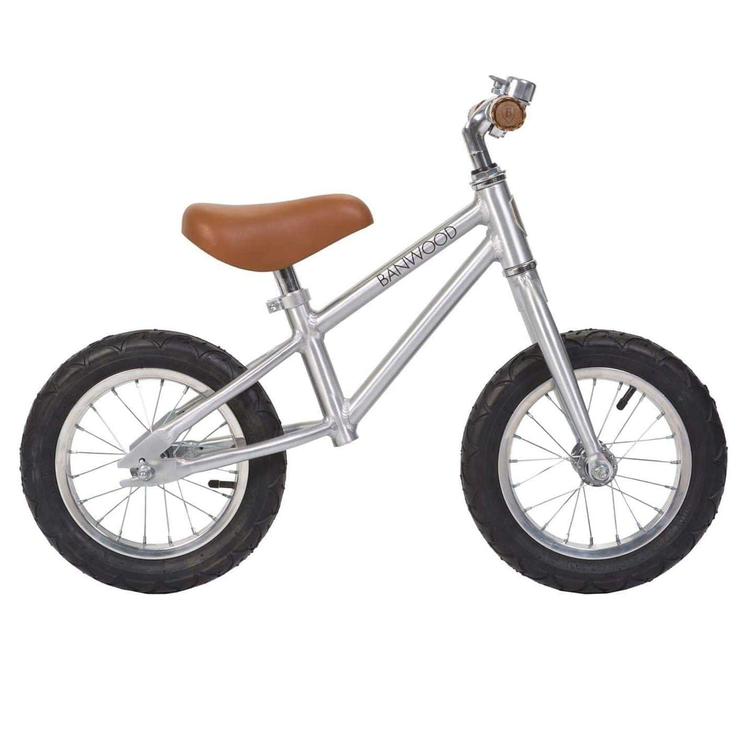 Chrome balance bike